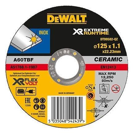 Dewalt Dt99580 Qz Xr Flexvolt Schruppscheibe Fur Metall Mister