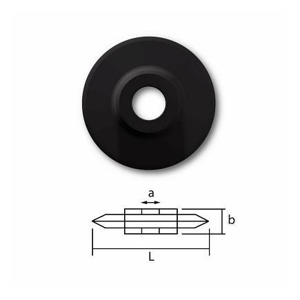 USAG Ersatzschneidrad für Rohre aus Stahl und nichtrostender Stahl - 1