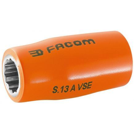"""FACOM S.AVSE - Steckschlüssel 1/2"""" 12-Kant - 1000 Volt isoliert, Serie VSE - 1"""