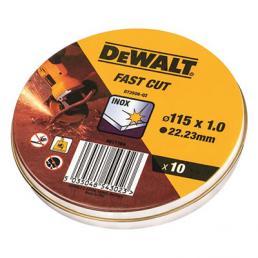 DeWALT DeWalt DT42340TZ Trennscheibe Edelstahl, flach,10 Stück - 1
