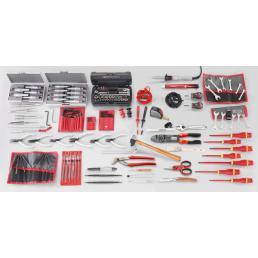 FACOM Sortiment Elektronik mit 144 Werkzeugen, metrisch und Zollmaße - 1