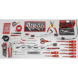 FACOM Sortiment Elektronik mit 103 Werkzeugen, metrisch - 1