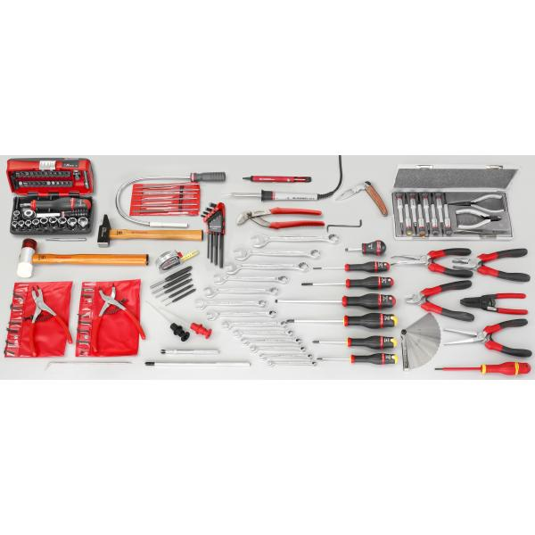 FACOM Sortiment Elektromechanik  Kundendienst mit 113 Werkzeugen - 1