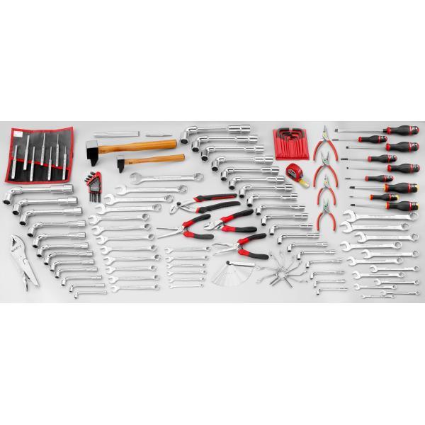 FACOM Sortiment CM.JA mit Werkzeugkasten mit 5 Fächern BT.13A (119 sts) - 1
