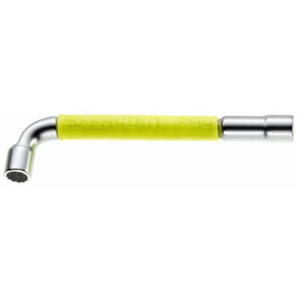 FACOM 76  Pfeifenkopfschlüssel, durchbohrt, geschmiedet, 12 Kant x 6 Kant, metrisch  RFID - 2