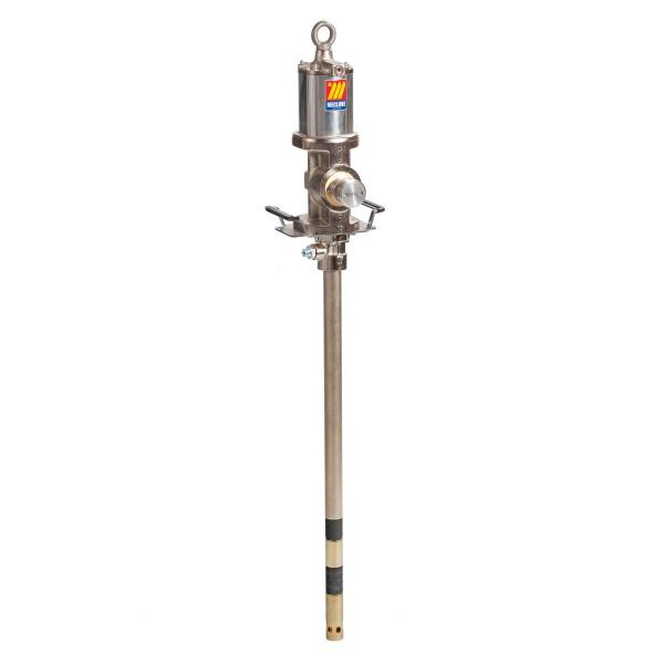 MECLUBE Industrial air operated pump for grease ratio 50:1 Mod. 950 flanged double effect shank length 940 mm - 1