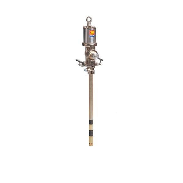 MECLUBE Industrial air operated pump for grease ratio 40:1 Mod. 940 flanged double effect shank length 860 mm - 1