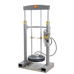 MECLUBE Frame lifter press for barrels 180 220 kg shank Ø 50 mm - 1