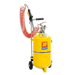 MECLUBE Polished steel pressure sprayer 24 l - 1