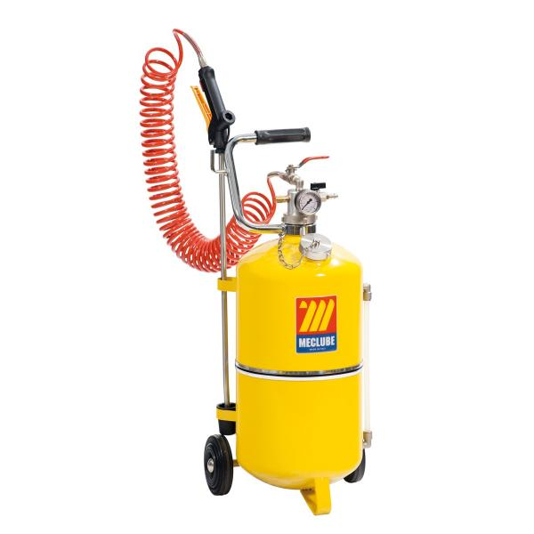 MECLUBE 050-1520-000 - Polished steel pressure sprayer 24 l - 1