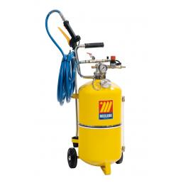 MECLUBE Polished steel pressure sprayer 24 l With foaming device - 1
