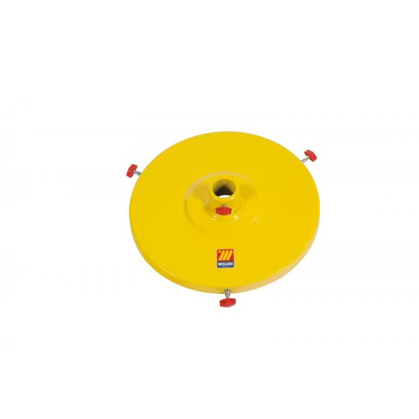 MECLUBE Lid for industrial pumps with shank Ø 50 mm for drums 180 220 kg - 1