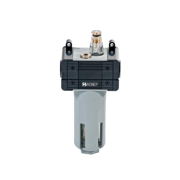 """MECLUBE Air lubricator Inlet – outlet connection F 1/4"""" - 1"""