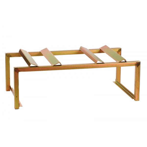 MECLUBE Horizontal support to store 2 barrels of 180 220 l - 1