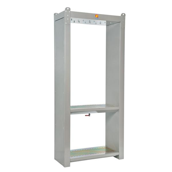 MECLUBE Support cabinet for 4 hose reels - 1