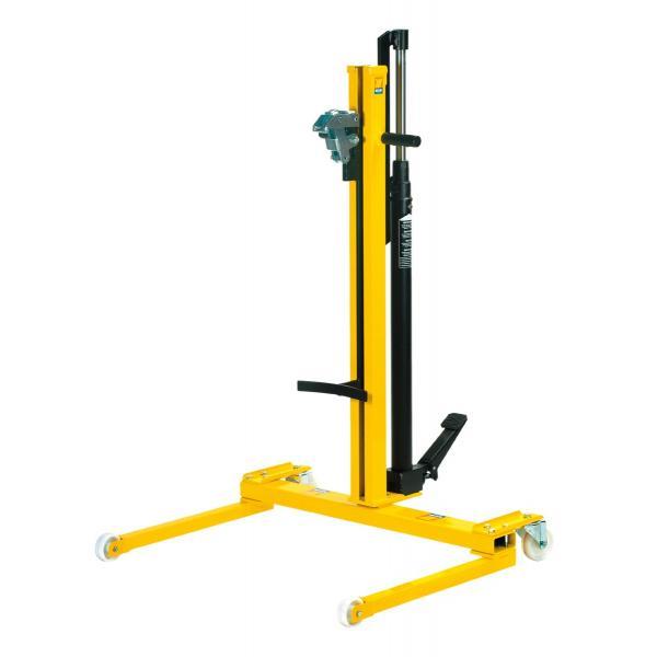 MECLUBE Hydraulic lift trolley for 180 220 l barrels - 1