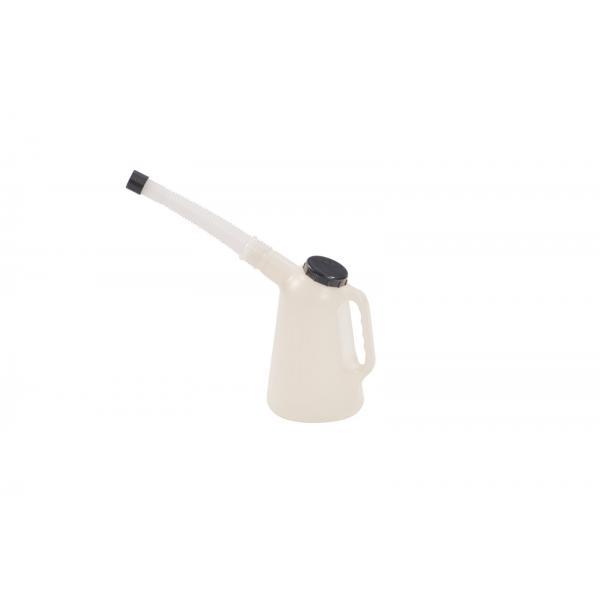 MECLUBE Polyethylene graduated decanter 1 l - 1