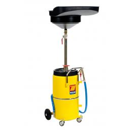 MECLUBE Exhausted oil drain unit 90 l Recovery basin capacity 20 l - 1