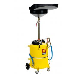 MECLUBE Exhausted oil drain unit 120 l - 1