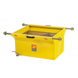 MECLUBE Exhausted oil drain unit for pits 120 l - 1