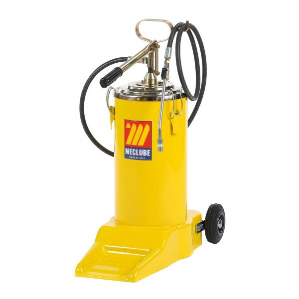 MECLUBE Wheeled manual grease pump 16 kg - 1