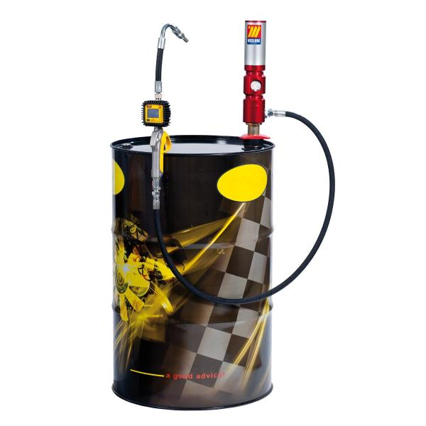 MECLUBE Oil set suitable for barrels of 180 220 l Delivery capacity 30 l/min - 1
