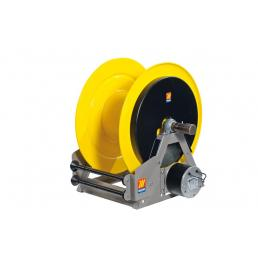 MECLUBE Industrial hose reels motorized electrical 24V FOR GREASE 400 bar Mod. ME 630 - 1