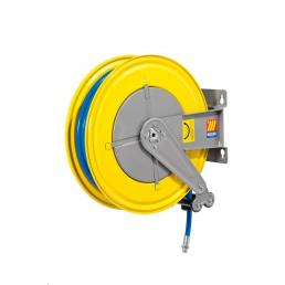 MECLUBE Hose reel fixed FOR AIR WATER 20 bar Mod. F 550 WITH HOSE 25m - 1