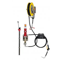 MECLUBE Wall fixed aspirator air operated pump for exhausted oil - 1