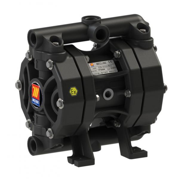 MECLUBE Air operated double diaphragm pumps Mod. P55 in POLYPROPYLENE Gasket in viton - 3