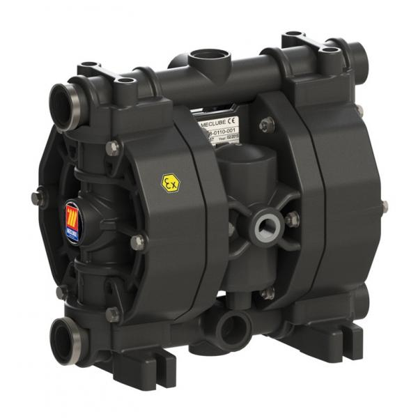 MECLUBE Air operated double diaphragm pumps Mod. P110 in POLYPROPYLENE Gasket in viton - 2