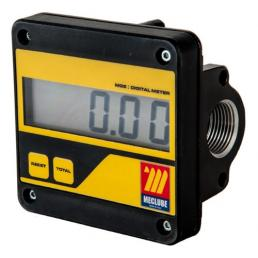 MECLUBE Digital flow meter MGE 110 min max flow rate 5 110 l/min - 1
