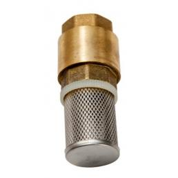 MECLUBE Foot valve 1 F with stainless steel filter - 1