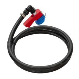 MECLUBE Aspiration kit EPDM hose L. 1,10 m with suction connections CDS - 1