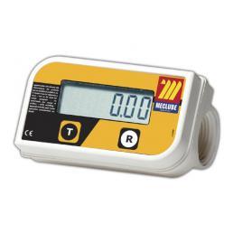 MECLUBE Digital turbine flow meter IN LINE foodstuffs min max flow rate 10 150 l/min - 1
