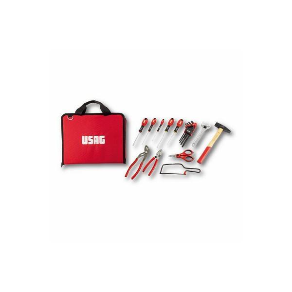 USAG Werkzeugtasche mit Sortiment für die WARTUNG (20 St.) - 1