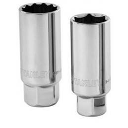 STANLEY Steckschlüsseleinsätze für Zündkerzen - 1