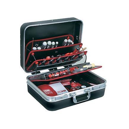 USAG Valigia portautensili con assortimento 496 H2 per elettrotecnica (82 pz) - 1