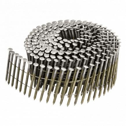 DeWALT Nagelspule F Serie - gerundeter Kopf gerillter Schaft galvanisiert 12 Mikron - 1