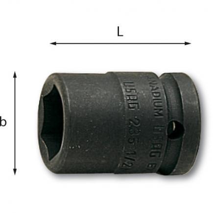 USAG FULLCONTACT-Kraftschraubereinsatz 6-kant - 2