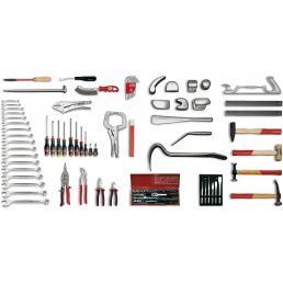 USAG - U04960027 - 496 C1 - Werkzeugsortiment KAROSSERIE (88-teilig) | Mister Worker®