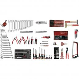 USAG - U04960040 - 496 E2 - Werkzeugsortiment INDUSTRIE (128-teilig) | Mister Worker®