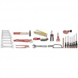 USAG U04960090 - 496 L - Werkzeugsortiment SANITÄR (25-teilig) | Mister Worker®