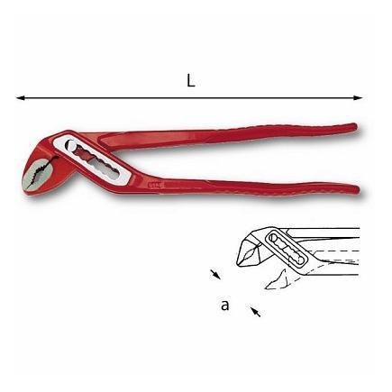 USAG Verstellbare Zange mit durchgestecktem Gelenk - 1