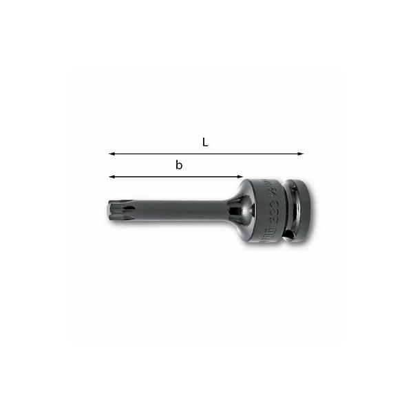 """USAG 1/2"""" Kraftschraubereinsätze für Schrauben mit TORX®-Profil - 1"""