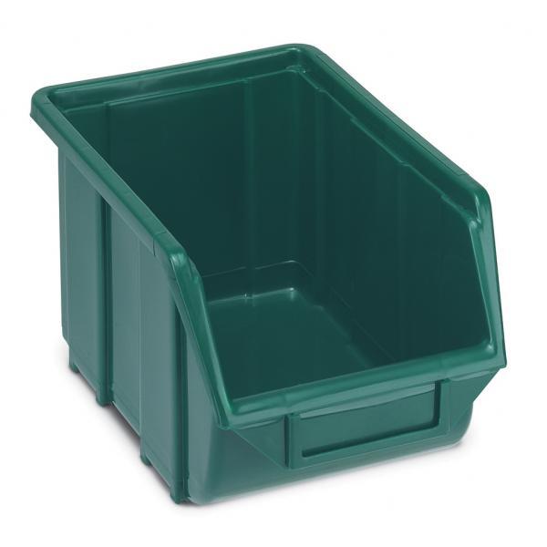 TERRY Behälter für Kleinteile aus Kunststoff stapelbar 16x25x12,9 - 1