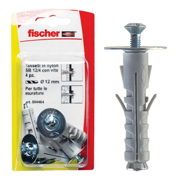 FISCHER Expansion plug with closed eyelet in blister SB K - 1