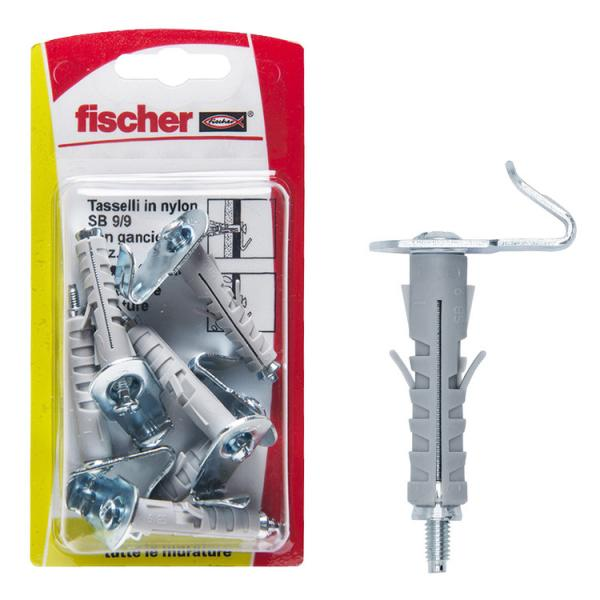 FISCHER Expansion plug with flat hook in blister SB K - 1