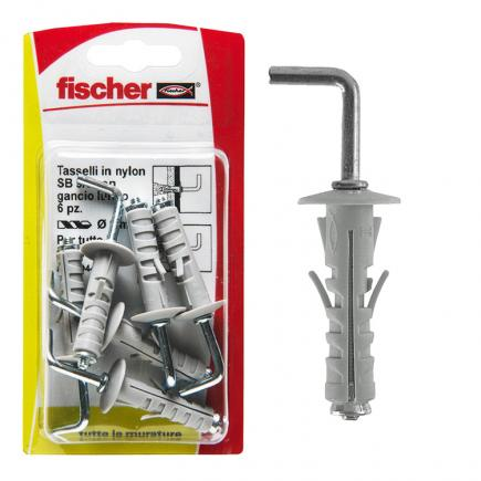 FISCHER Expansion plug with long hook in blister SB K - 1