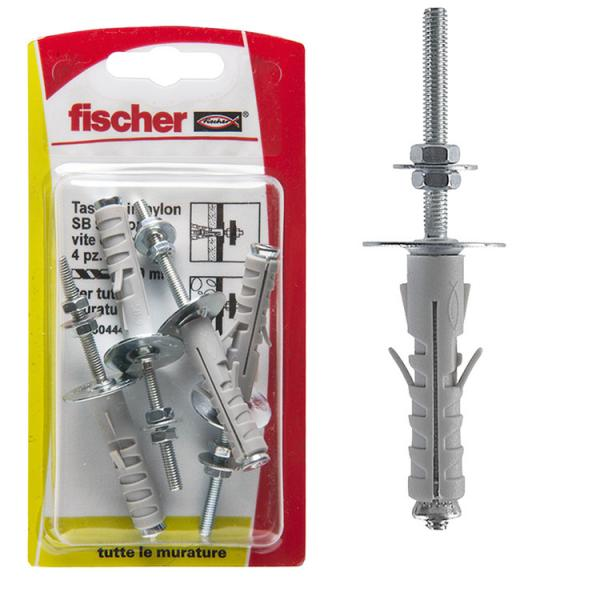 FISCHER Expansion plug with threaded rod in blister SB K - 1